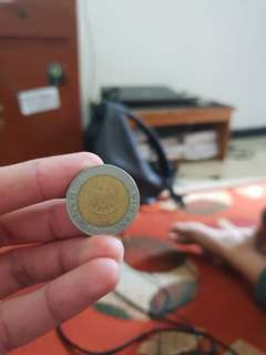 Uang logam kelapa sawit Rp.1000 th1996