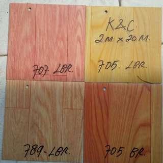 Lantai vinyl roll 1,4mm warna
