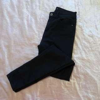 Glassons high waist skinny black jeans