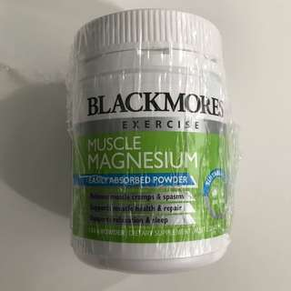 BN Blackmores muscle magnesium powder 150g