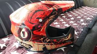 661 full face helmet