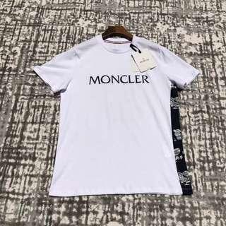Moncler 18ss 最新男士3D膠印短袖T恤,三色 S-XXL 碼,少量! $1590 保證100%原裝正版