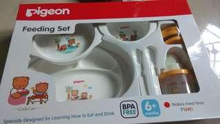 Tempat makan bayi 1set