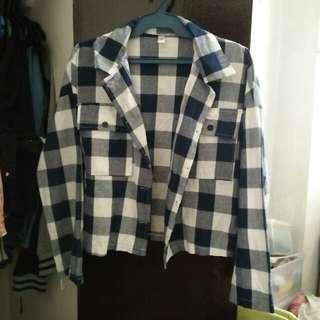 Semi-cropped Flannel