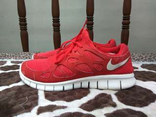 Nike Free Run+ 2 University Red Sail