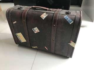 Vintage Wooden luggage box