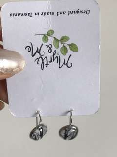 Myrtle and me tree dangly earrings