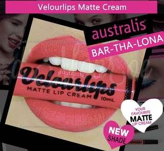 💠 Australis Velourlips Matte Lip Cream 💠