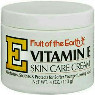 VITAMIN E skin Care Cream