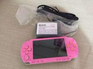 Psp 1k pink complete set full games