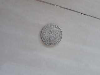 Koin indonesia 50 sen 1958