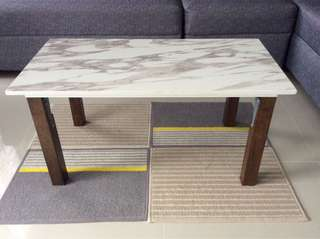 Marble center table 40x80cm