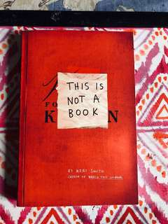 """Title: """"This Is Not A Book"""""""
