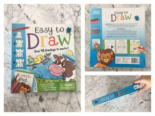 Easy to draw sketch pad