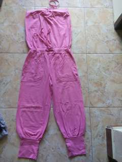 Jumpsuit panjang model kemben