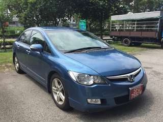 Honda Civic Fd 2.0A 2008 Blue