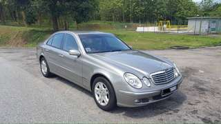 Mercedes Benz W211-E200 Kompressor 2006