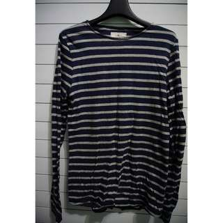 "T-Shirt Long Sleeve ""Brunswick"" Navy"