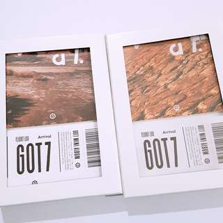 GOT7 6th Mini Album Flight Log Arrival Never ever unsealed album