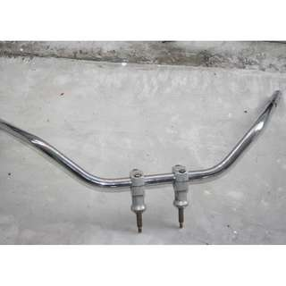 Cruiser Honda Shadow Steed Original drag bars stainless steel $40 for each