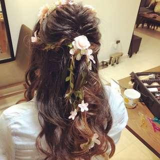 Bridal, ROM makeup & hairdo services