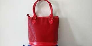(LV Epi Leather Inspired) Bucket Bag