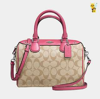 COACH BANNET LIMITED PINK