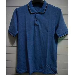 "Polo Shirt ""Cole"" Slim Fit Blue"