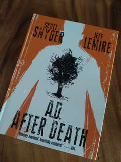 A.D After Death Scott Snyder Jeff Lemire