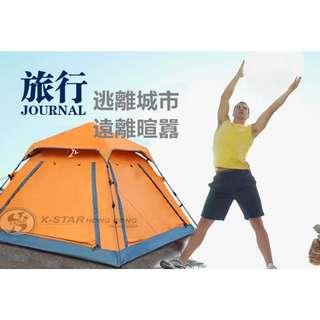 1633127 戶外露營帳篷 3-4人 tent