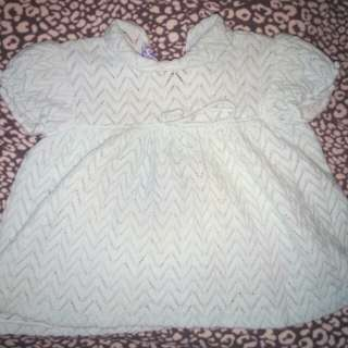 Baby Knitted Dress 6-12mons.