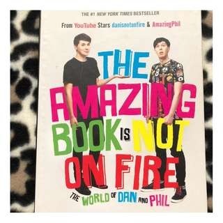 THE AMAZING BOOK IS NOT ON FIRE, HARDCOVER [CHEAP]