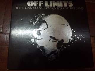 Music CD: The Kenny Clarke-Francy Boland Big Band–Off Limits - Jazz