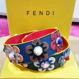 Strap bag fendi premium + box