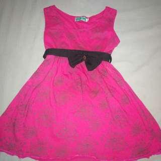Pink Dress 2-3yo