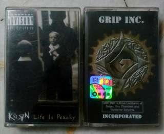 Cassette grip inc & korn