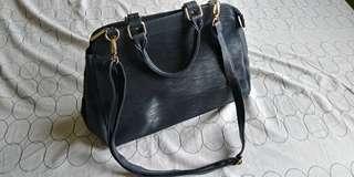 (LV Epi Leather Inspired) Handbag with sling