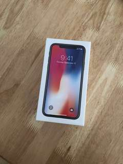 NEW Unactivated iPhone X 256GB