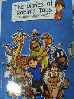 The diaries of Robin toy for 8books @ $4each