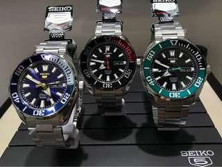 代購 香港 正品 Seiko Watch 日本手表 5仔五仔 誠意之作 SRPC51K1 SRPC53K1 SRPC55K1 SRPC57K1 SRPC SRPC51 SRPC53 SRPC55 SRPC57