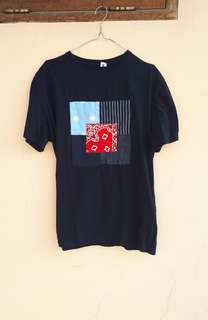 Warpweft boro patch tees