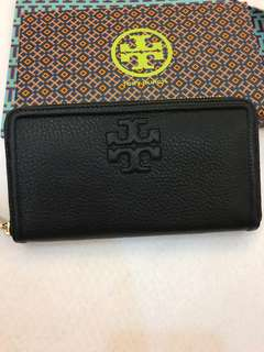(Ready Stock)Authentic Tory Burch The multi gusset zip Continental