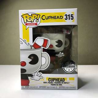 Funko Pop Cuphead Exclusive Sticker