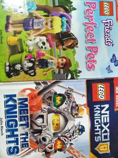Lego books $4.00 each