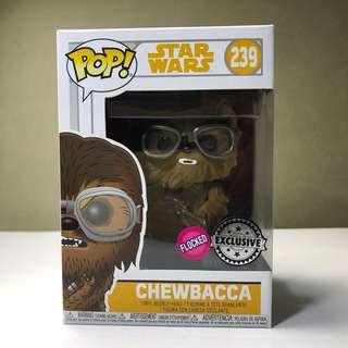 Funko Pop Chewbacca Flocked Exclusive Sticker