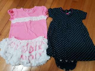 9pc Dresses, Sets, Romper-dresses (3/6mo)