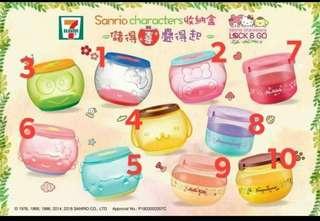 7-11 Sanrio Lock & Go