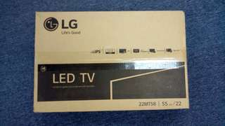 LG 22MT58DF Tv monitor.