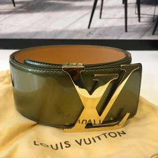 Louis Vuitton Patent Belt