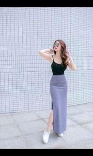 Top + Long Skirt